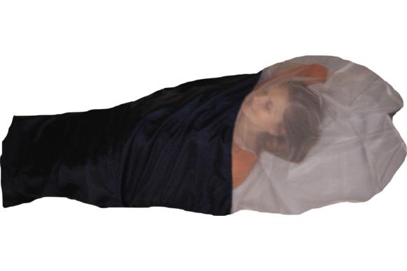 Schlafsack mit integriertem LLI Moskitonetz