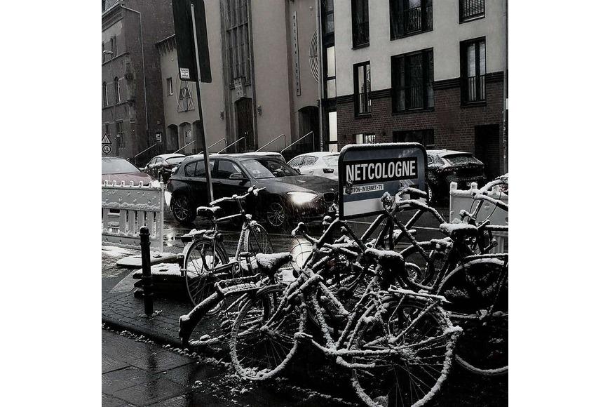科隆下雪的一天