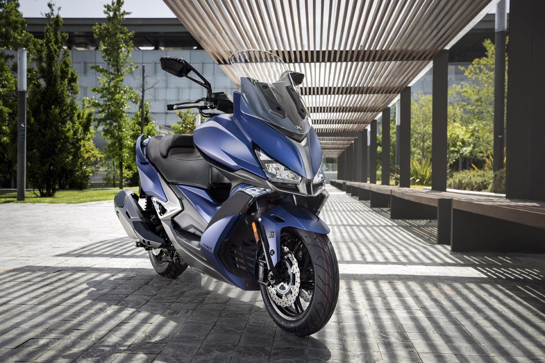 moto kymco xciting 400 s tcs