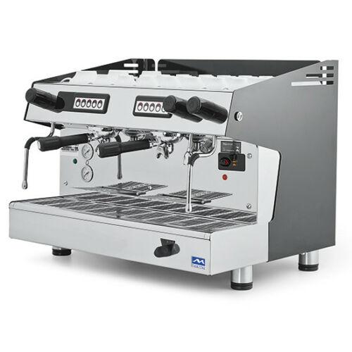 Siebträger Kaffee- & Espressomaschine 2-gruppig
