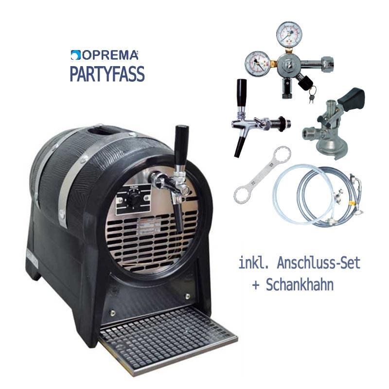 Zapfanlage - Partyfass 1-leitig inkl. Anschluss-Set