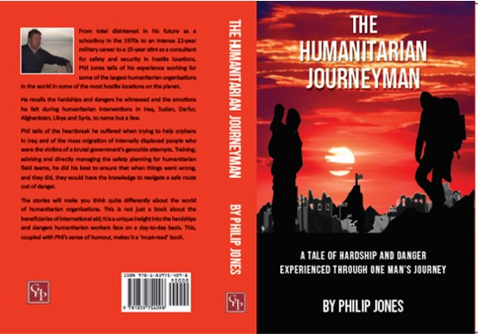 The Humanitarian Journeyman plus Personalised Message and Author's Signature