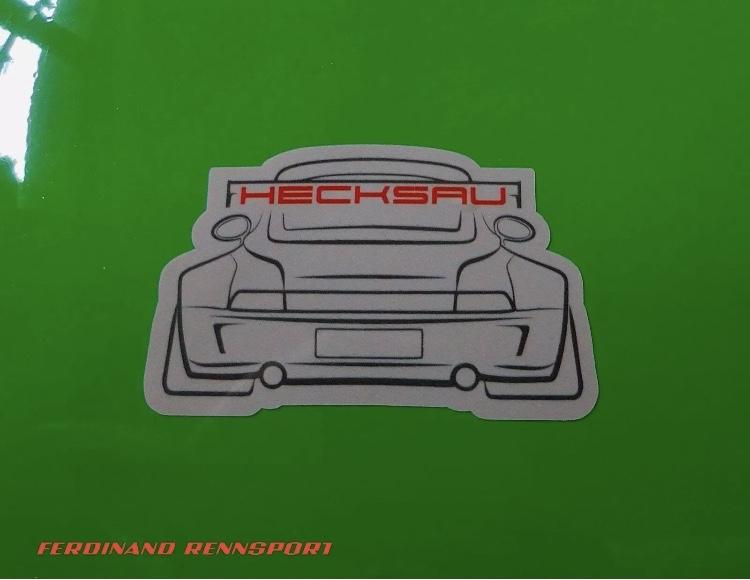 HECKSAU Sticker