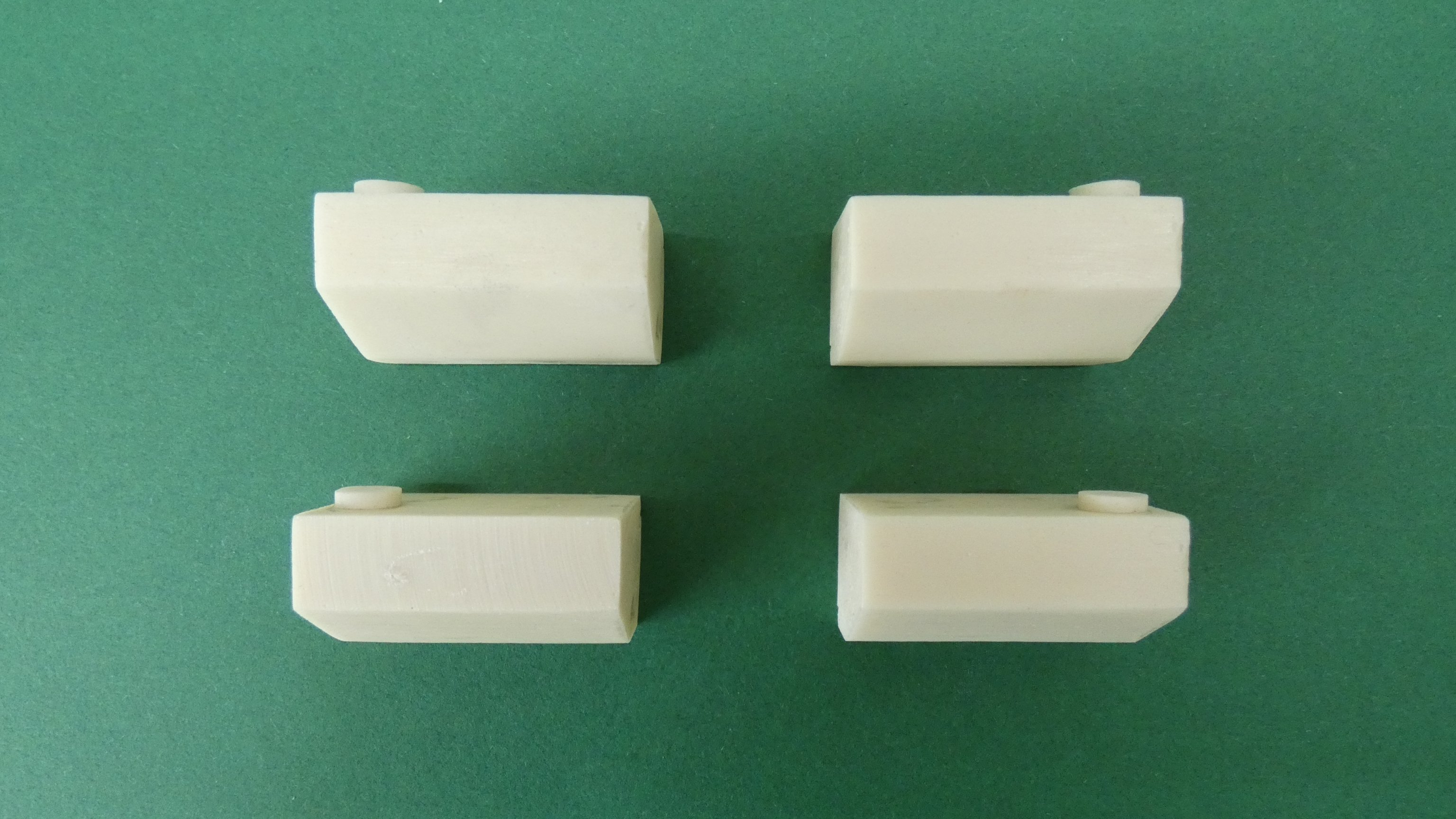 Resin Sand boxes for 5 inch Gauge Class 31 Diesel (Bogie Set of 4)