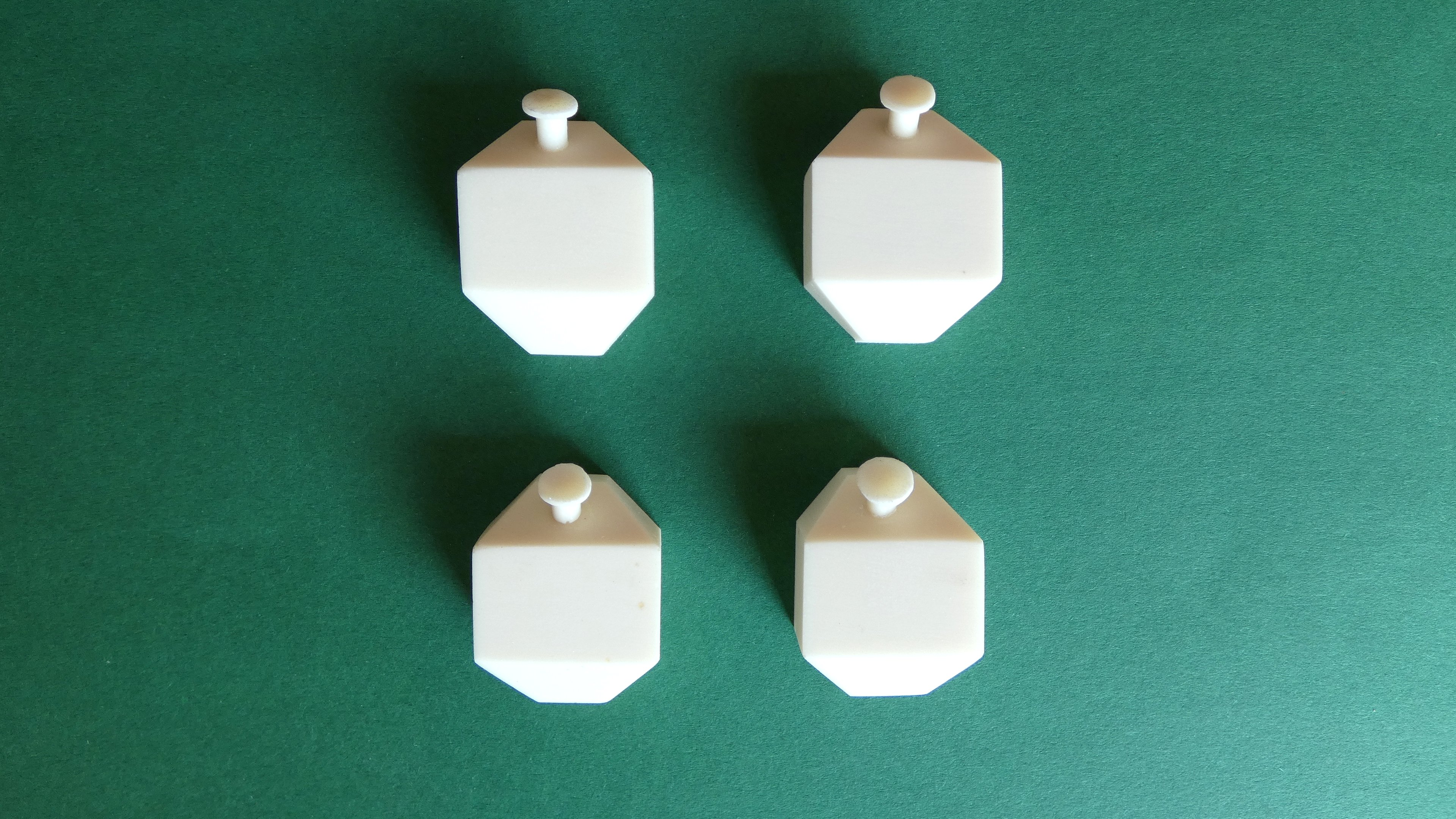 Resin Sand boxes for 5 inch Gauge Class 37 Diesel (Bogie Set of 4)