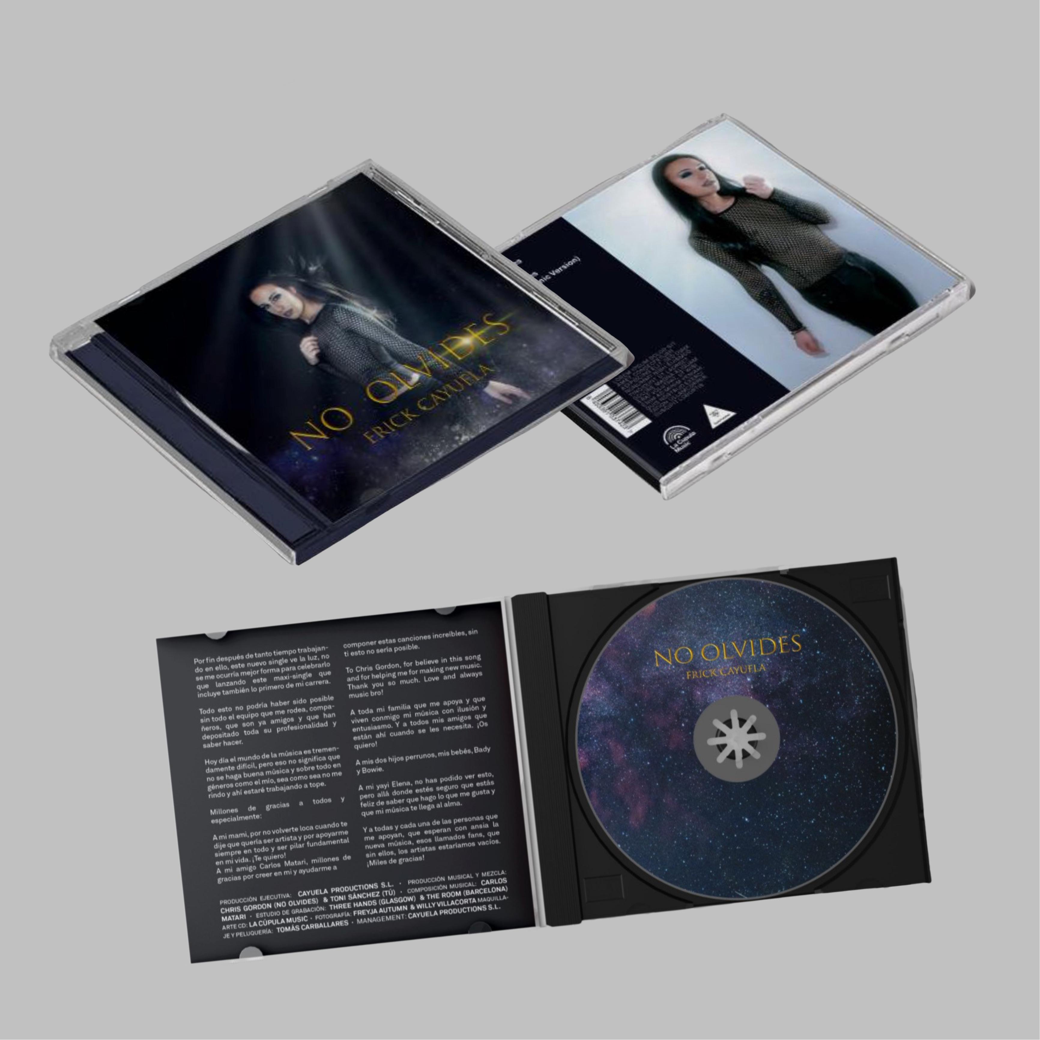 CD - NO OLVIDES (Firmado)