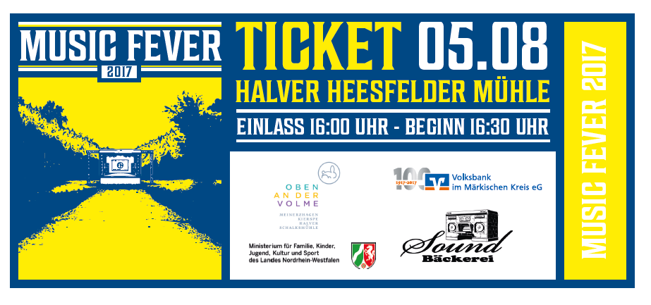 Music Fever Ticket