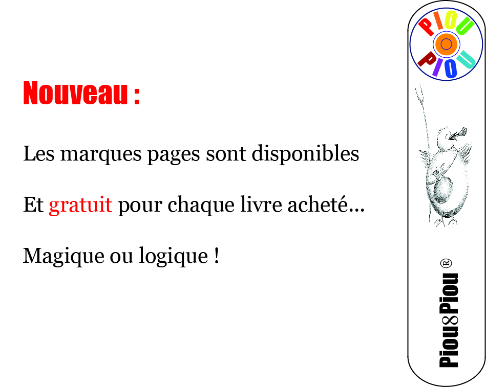 6 Marques pages
