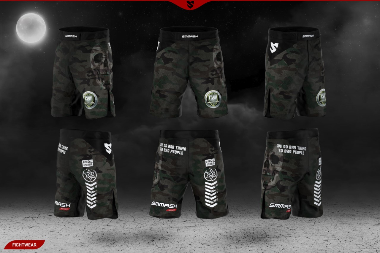 short MMA CKM Military