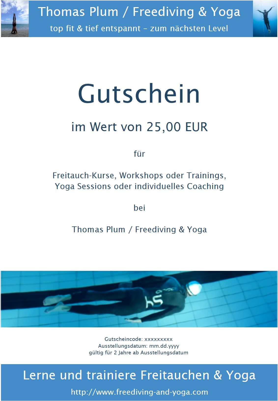 Gutschein (25 EUR)