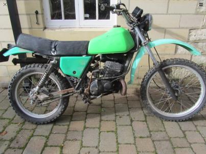 Kawasaki KE175D2