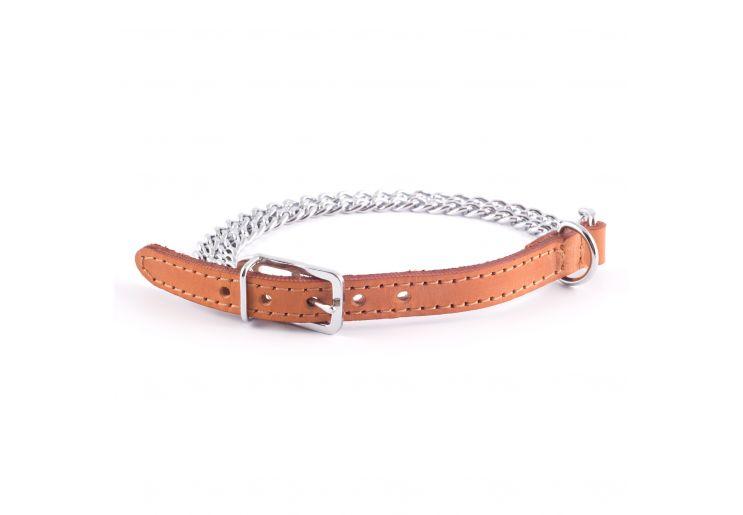 Ancol 2 Row Medium Chain Collar Tan