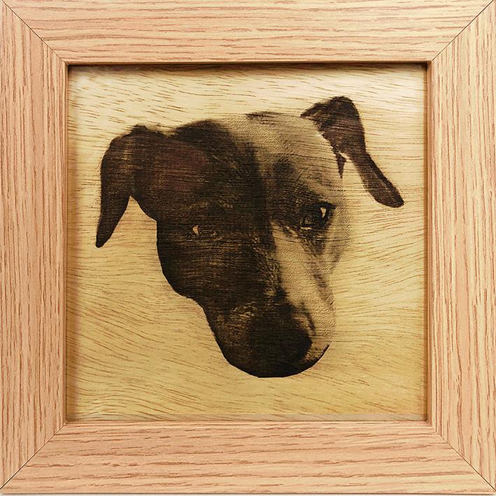 Framed Decorative Panel Wood