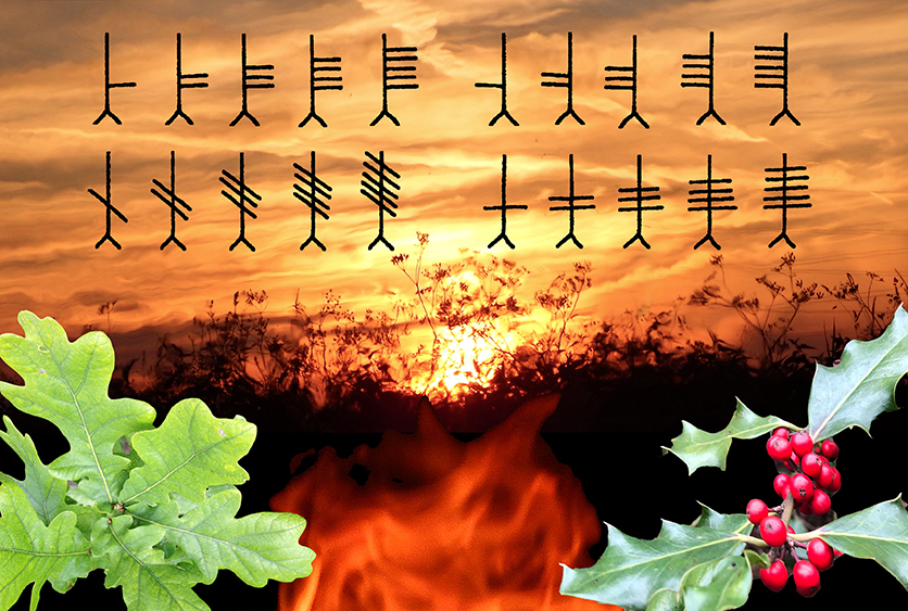 Introduction to the Tree Ogham at Beltane Workshop