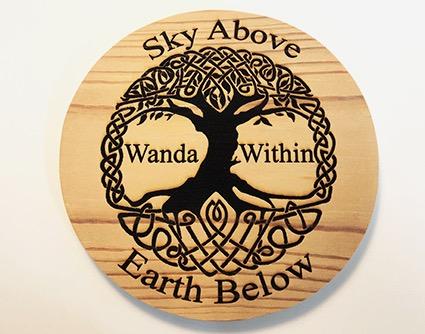 Wood Roundel