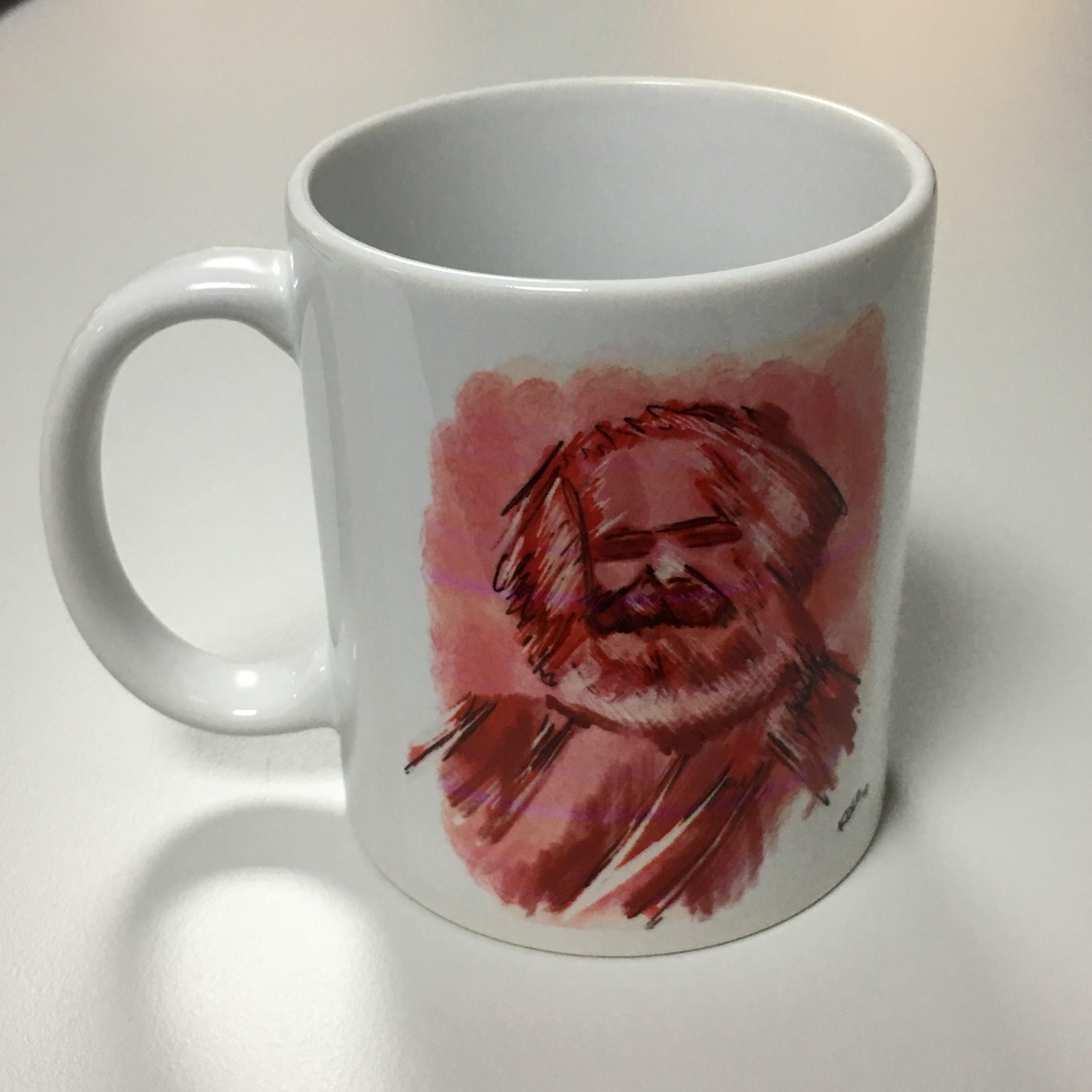 """Kaffeetasse """" Marx Kunst"""""""