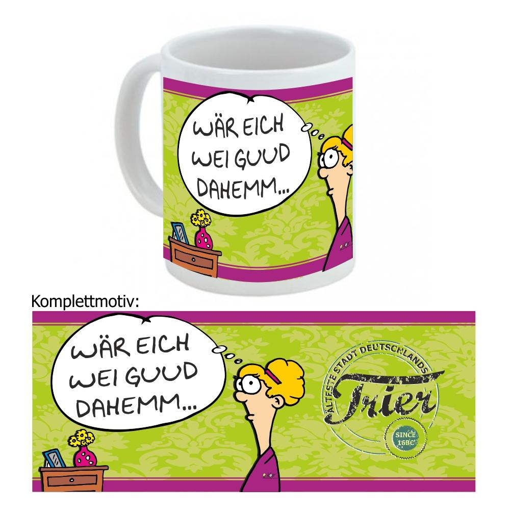 """Kaffeetasse """"Guud dahemm"""""""