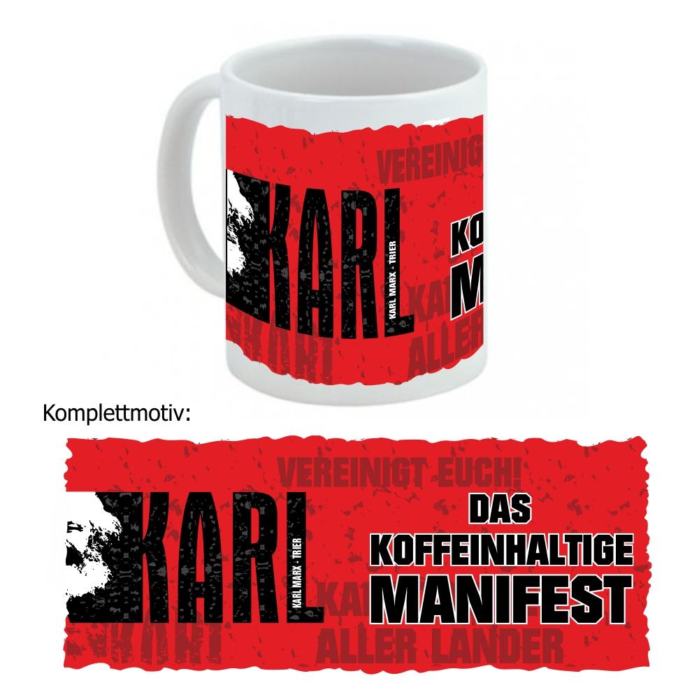 """Kaffeetasse """" Manifest """""""