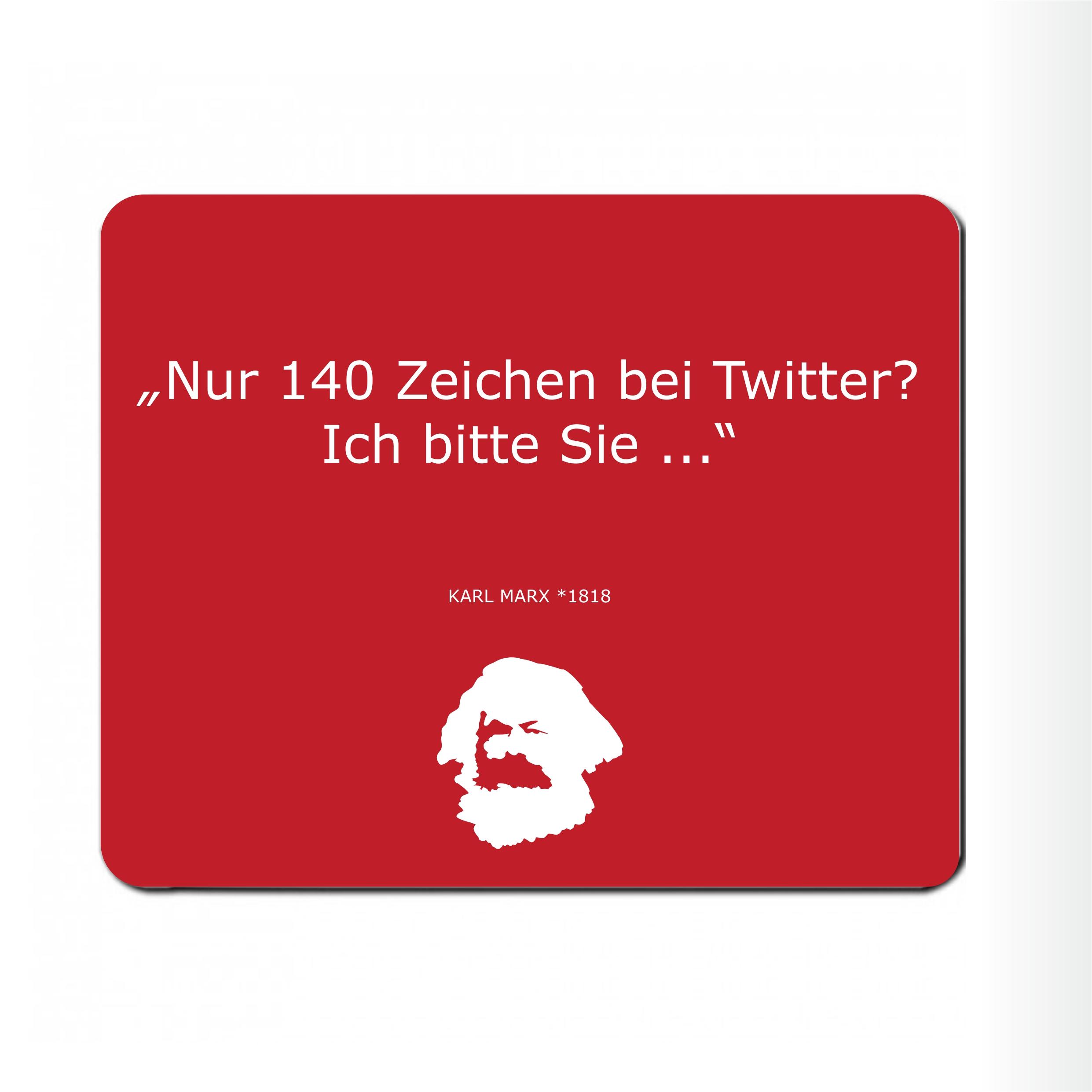 "Mousepad "" Karl twittert"""