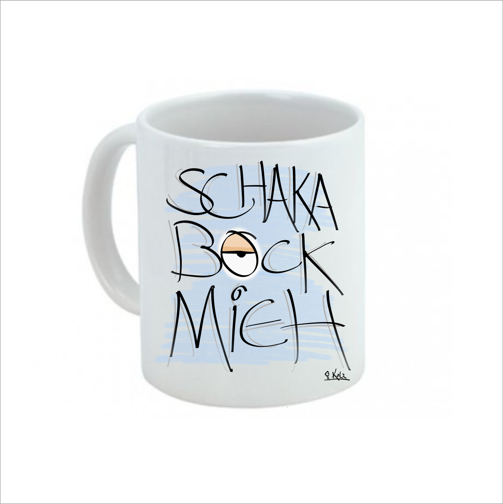"""Kaffeetasse """" Schakabockmieh"""""""