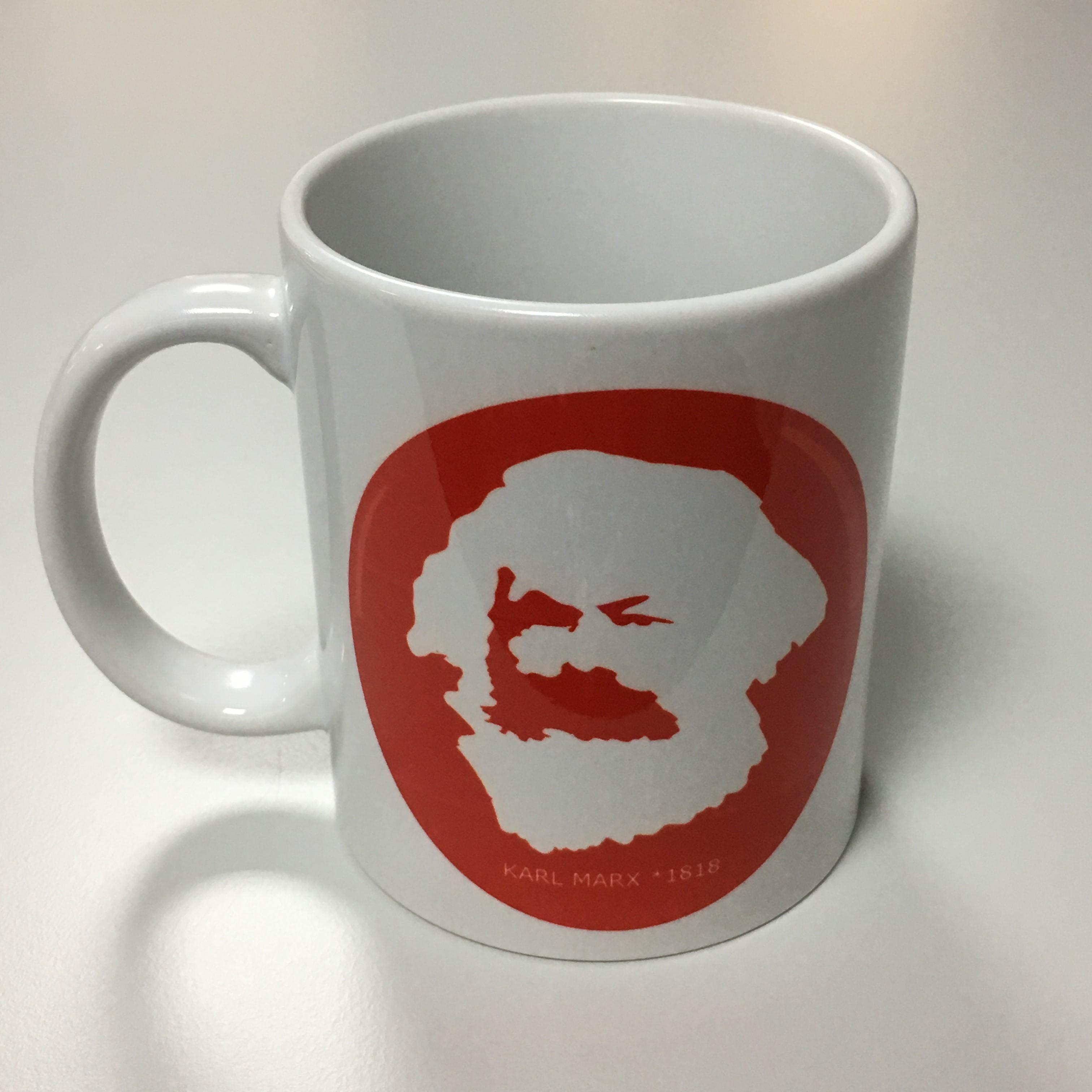 "Kaffeetasse ""Marx Button"""