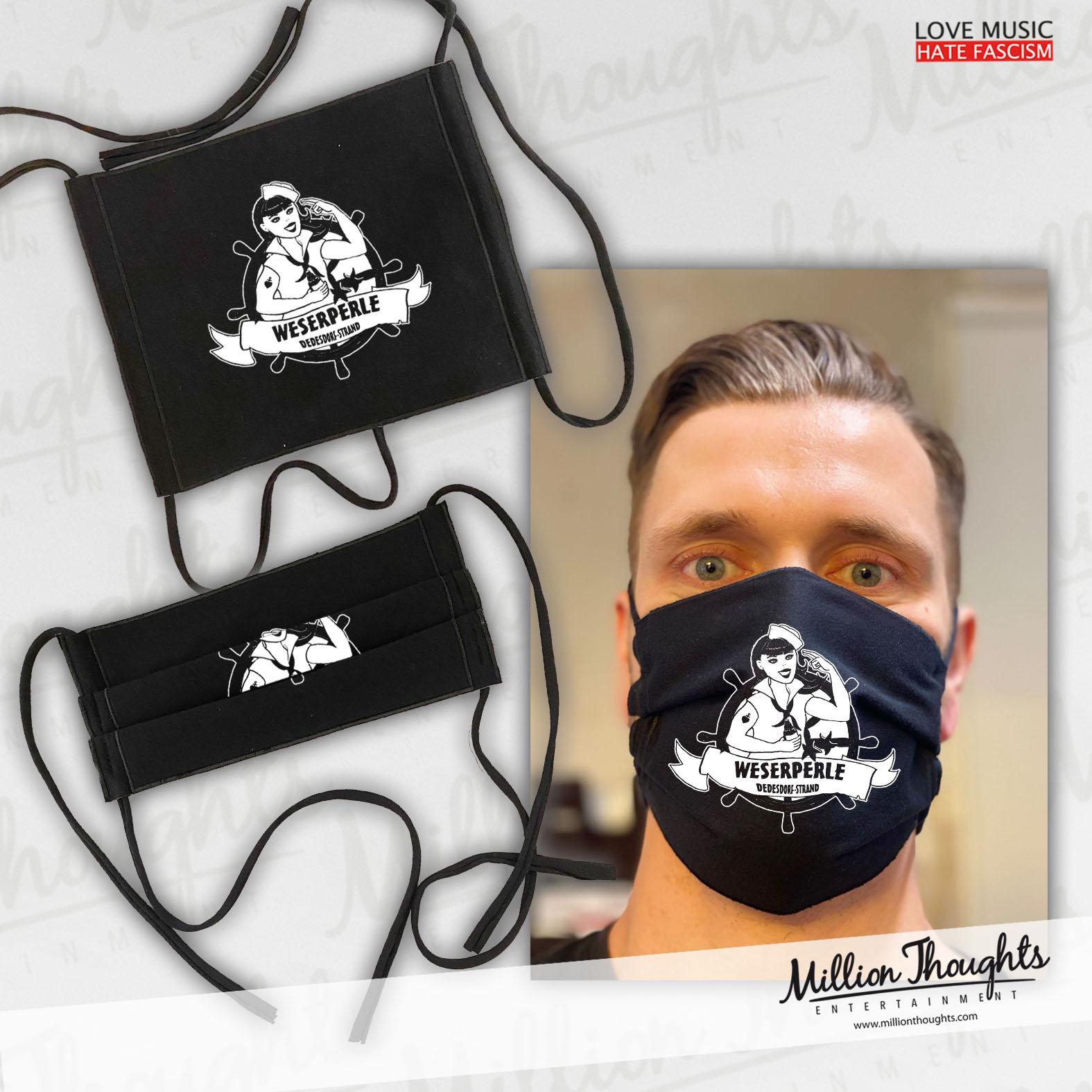 Soli Mund und Nasen Bedeckung/Maske