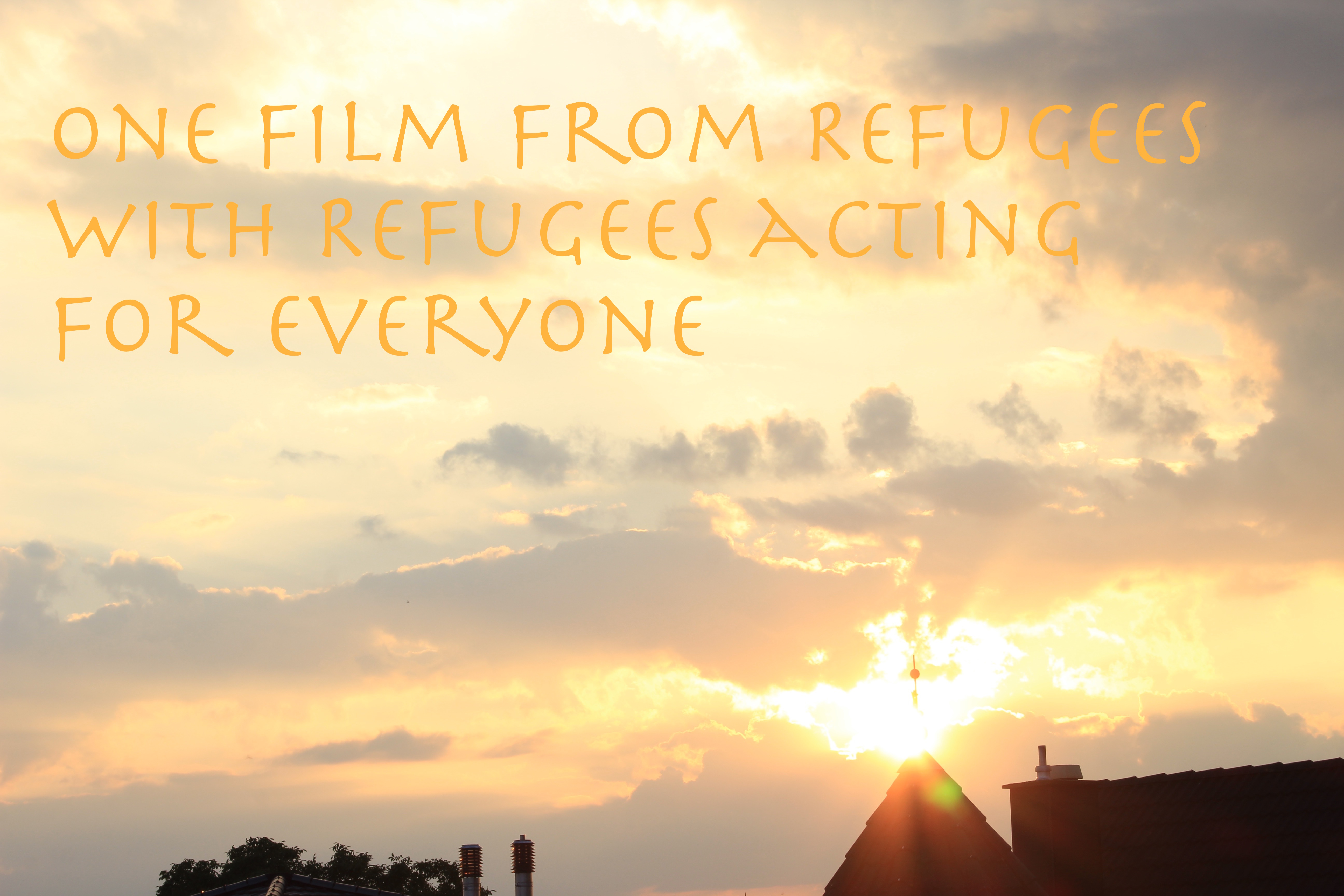 From refugees, with refugees