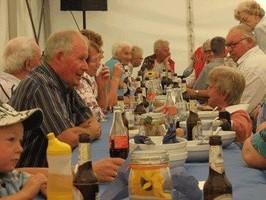 Sommerfest in Seniorenwohnanlage Lohainsweg