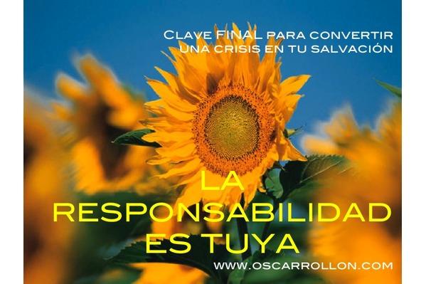 La responsabilidad es tuya
