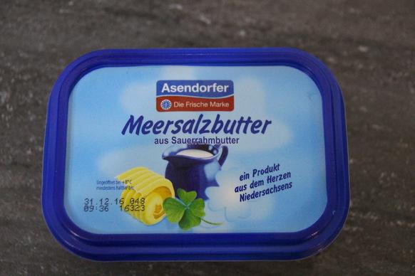 Die neue Asendorfer Meersalzbutter.