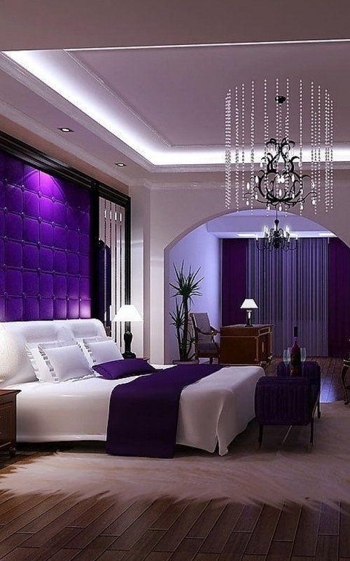 dormitorio ultra violeta