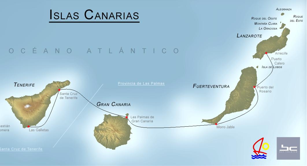 Atlantik Charterweek Blug Yachtcharter Canary