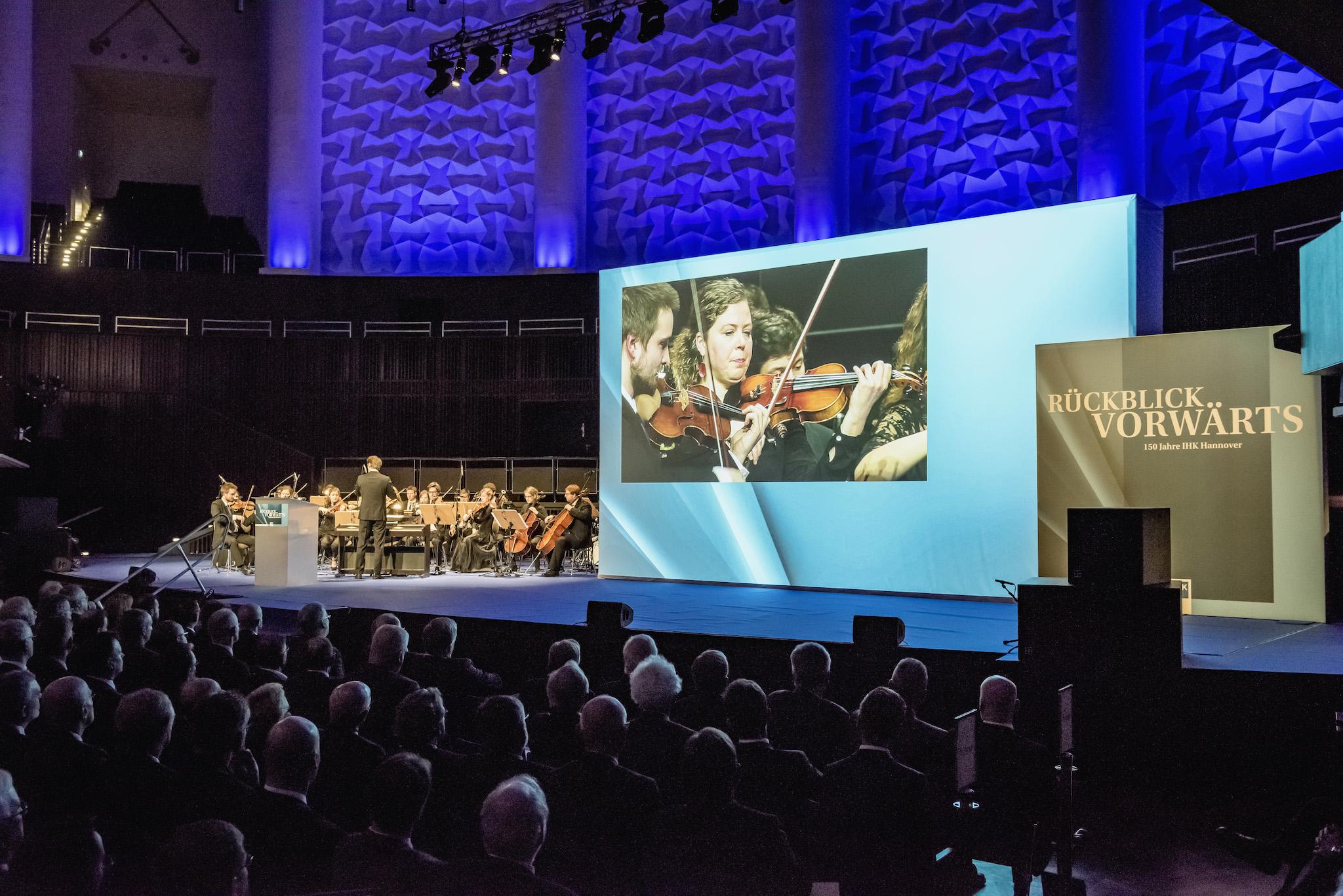 150 Jahre IHK Hannover – JPON im Kuppelsaal