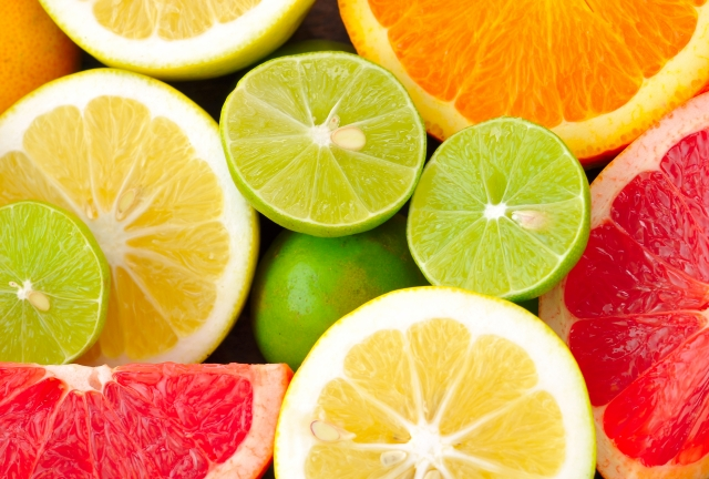 Picture of summer citrus fruits