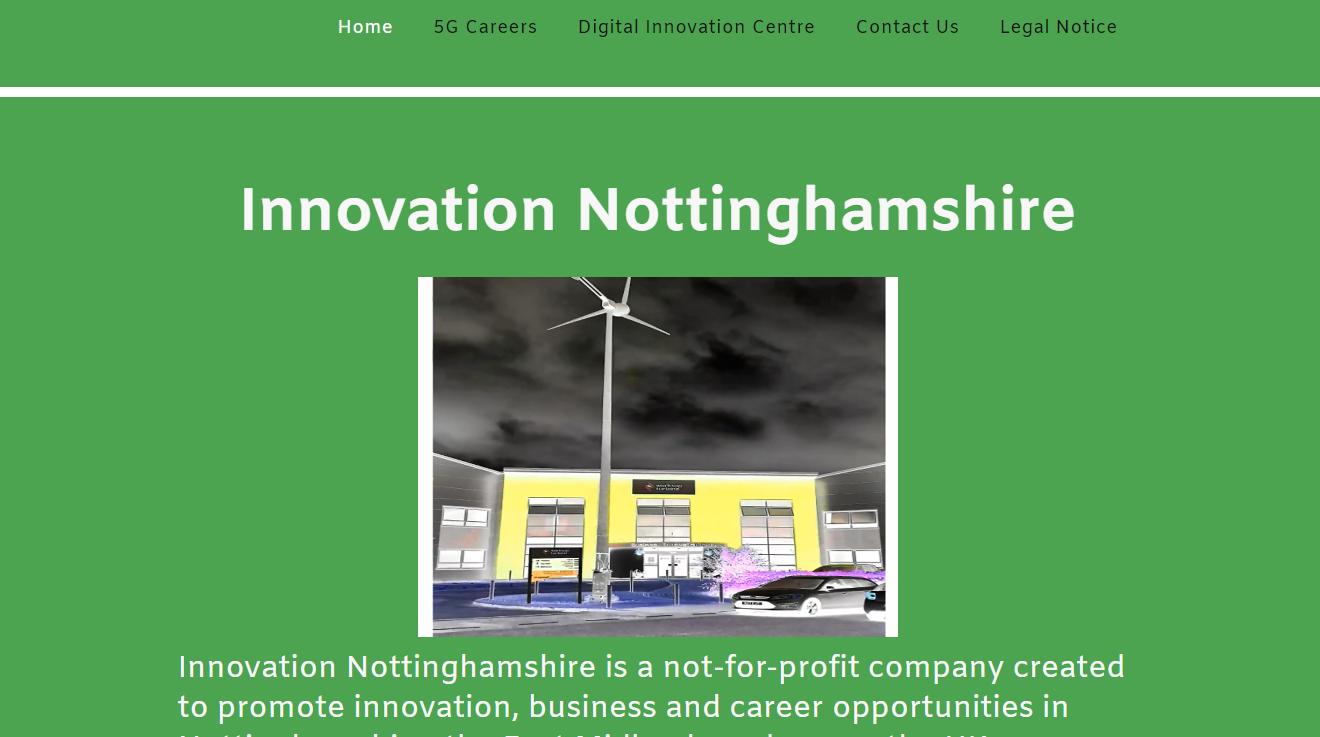 Worksop Turbine - Digital Business Innovation Cent