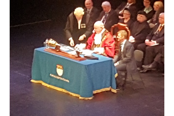 Chichester Mayor and Clerk