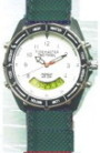 Tacticel Watch with Green PU Canvas strap