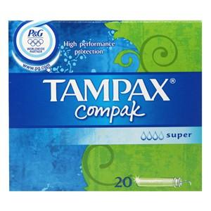 TAMPAX COMPACT SUPER
