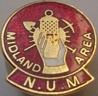 Midland Area pin badge