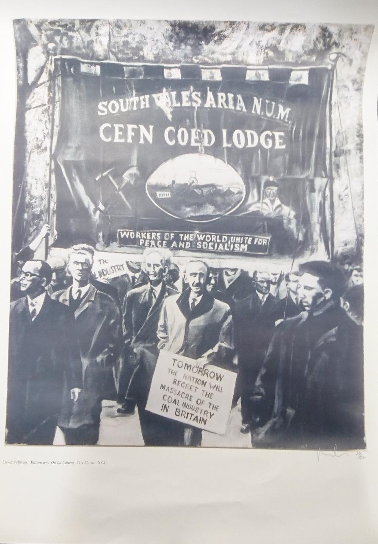 Cefn Coed Lodge Print