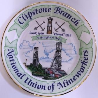 Clipstone plate