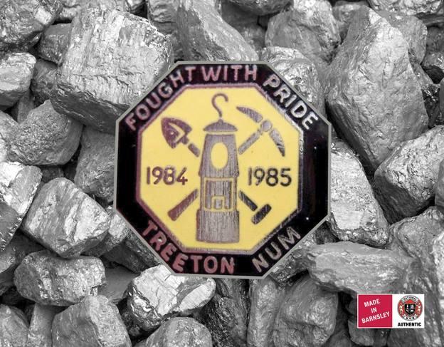Treeton NUM badge
