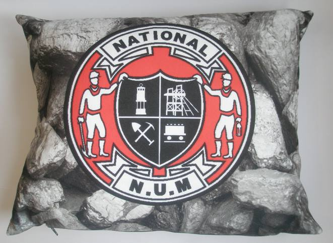 National Union of Mineworkers badge