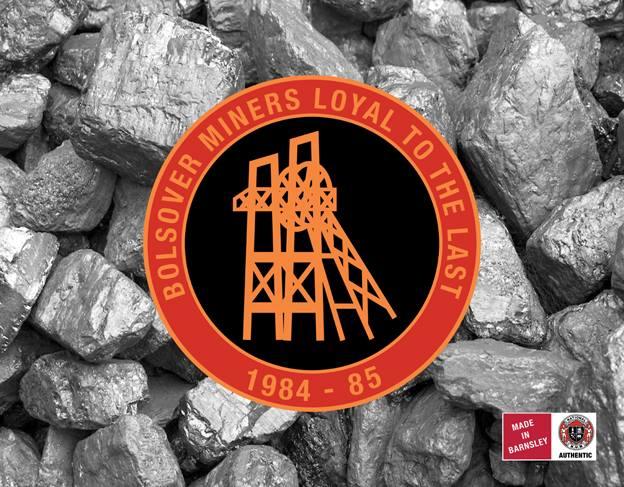 Bolsover Miners badge