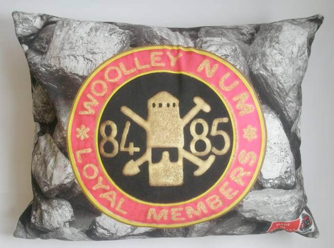 Woolley NUM badge