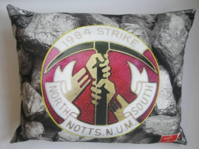 Notts 84 Strike badge