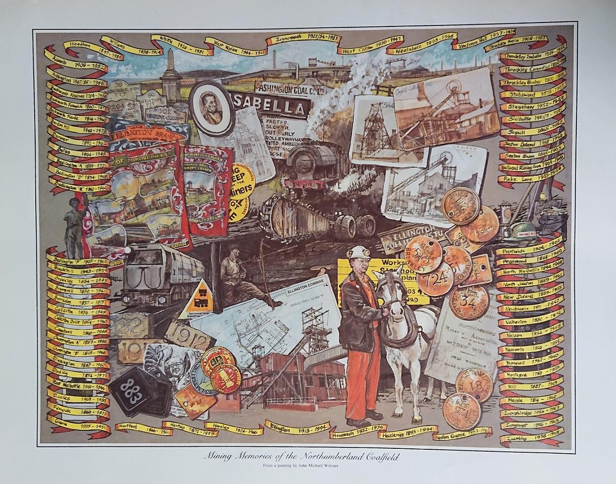 Northumberland Print