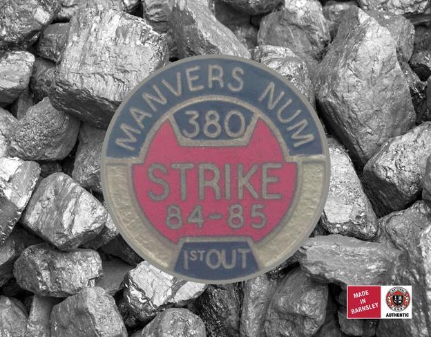 Manvers NUM badge