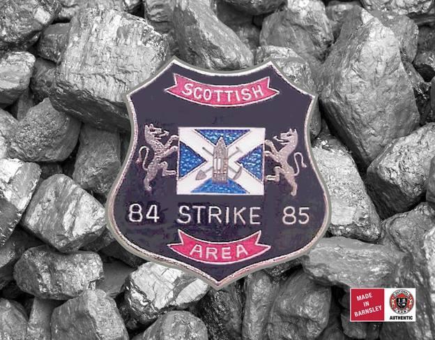 Scottish Area badge