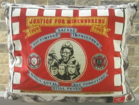 Justice for Mineworkers banner